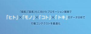「ヒト」×「モノ」×「コト」×「トキ」のデータ分析